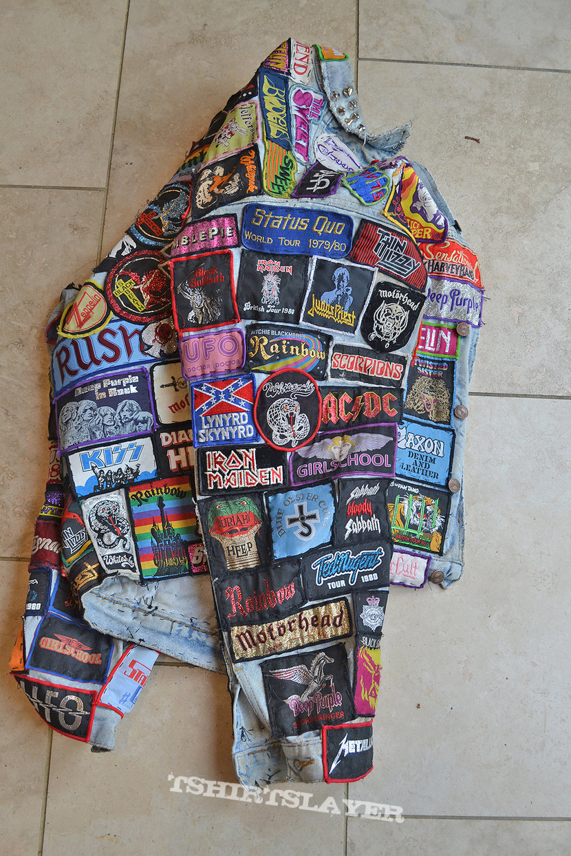 Vintage 1970's - 1980's battle jacket update
