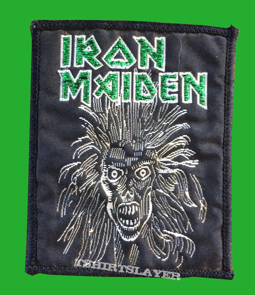 vintage Iron Maiden Eddie patch