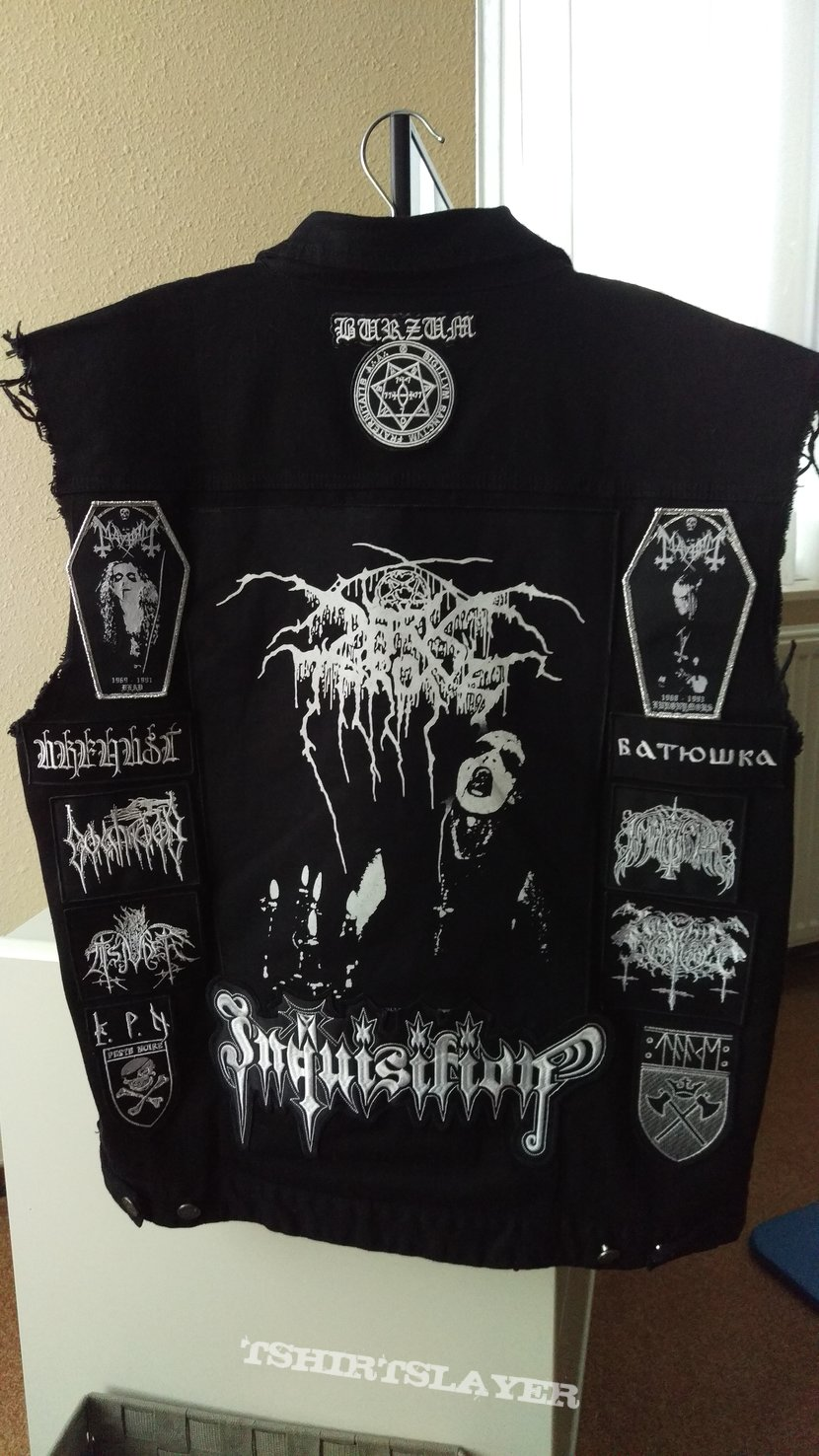 Black metal battle jacket update