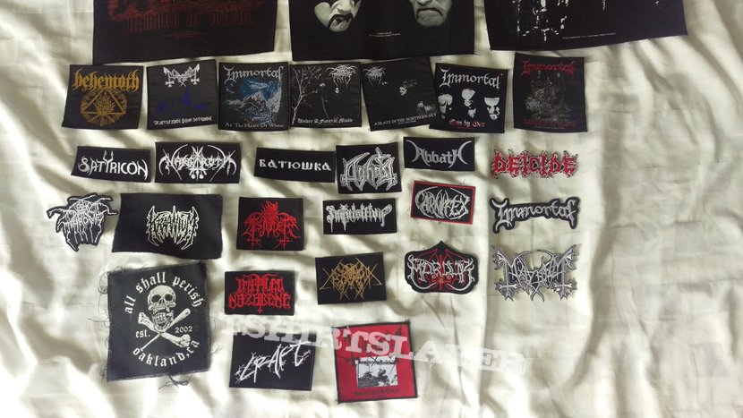 Patches (mainly black metal)