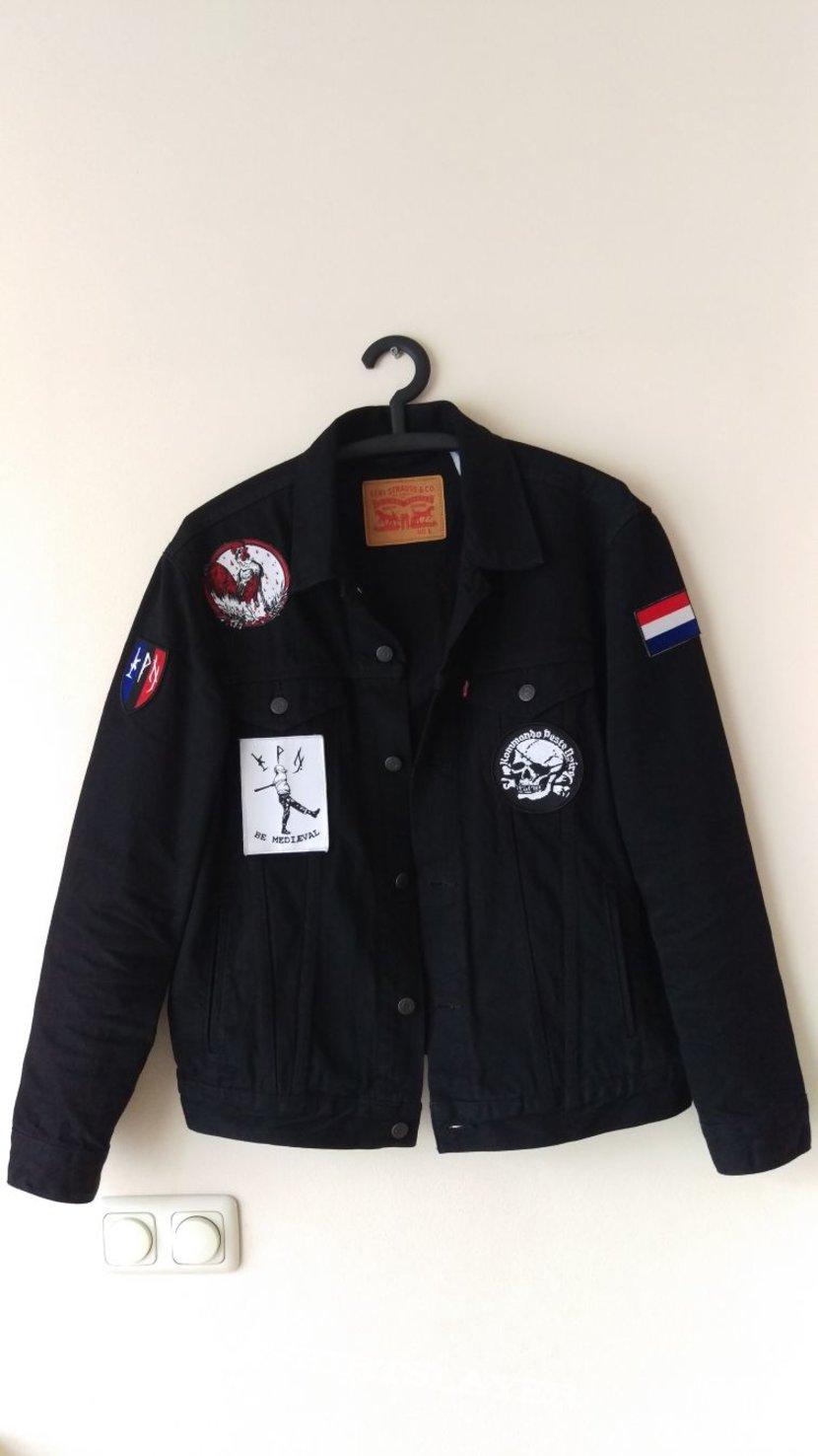 Peste Noire worship jacket first update