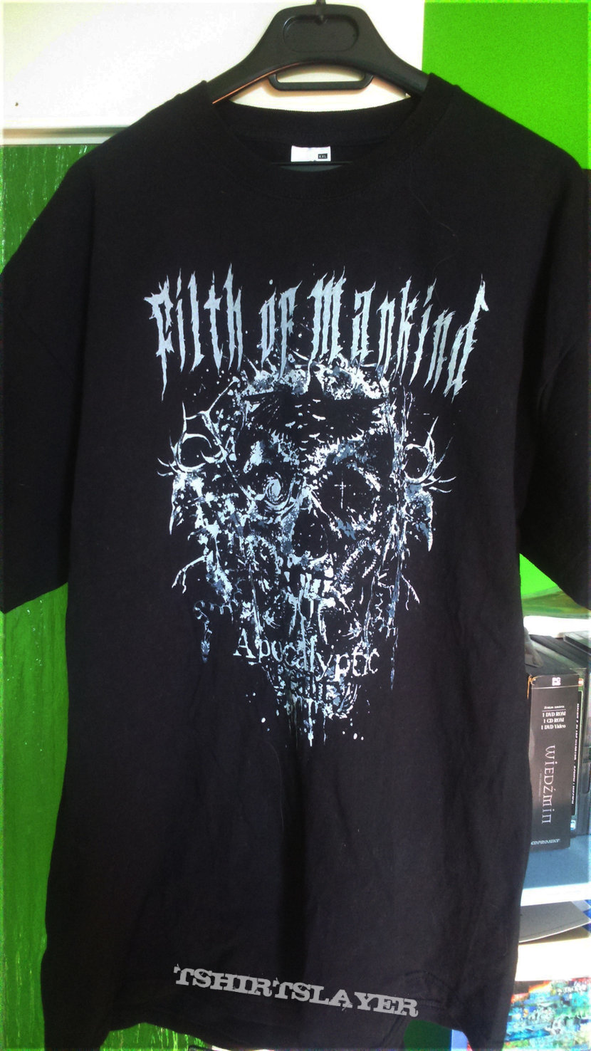 """Filth of Mankind - """"Apocalyptic Reality"""" Tee"""