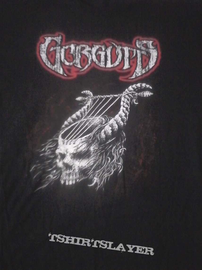 Gorguts - Harp Skull shirt