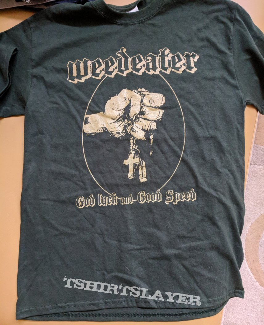 Weedeater God Luck and Good Speed 2018 Tour Shirt