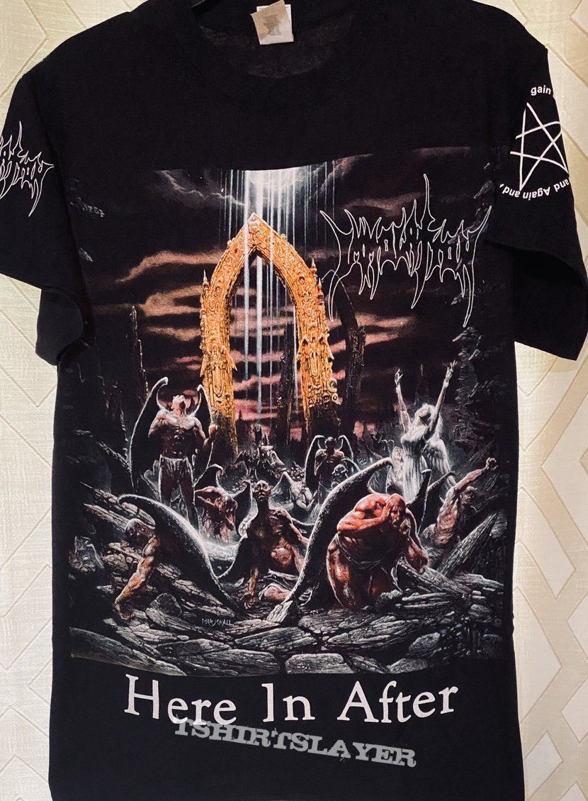 Immolation Here In After Shirt
