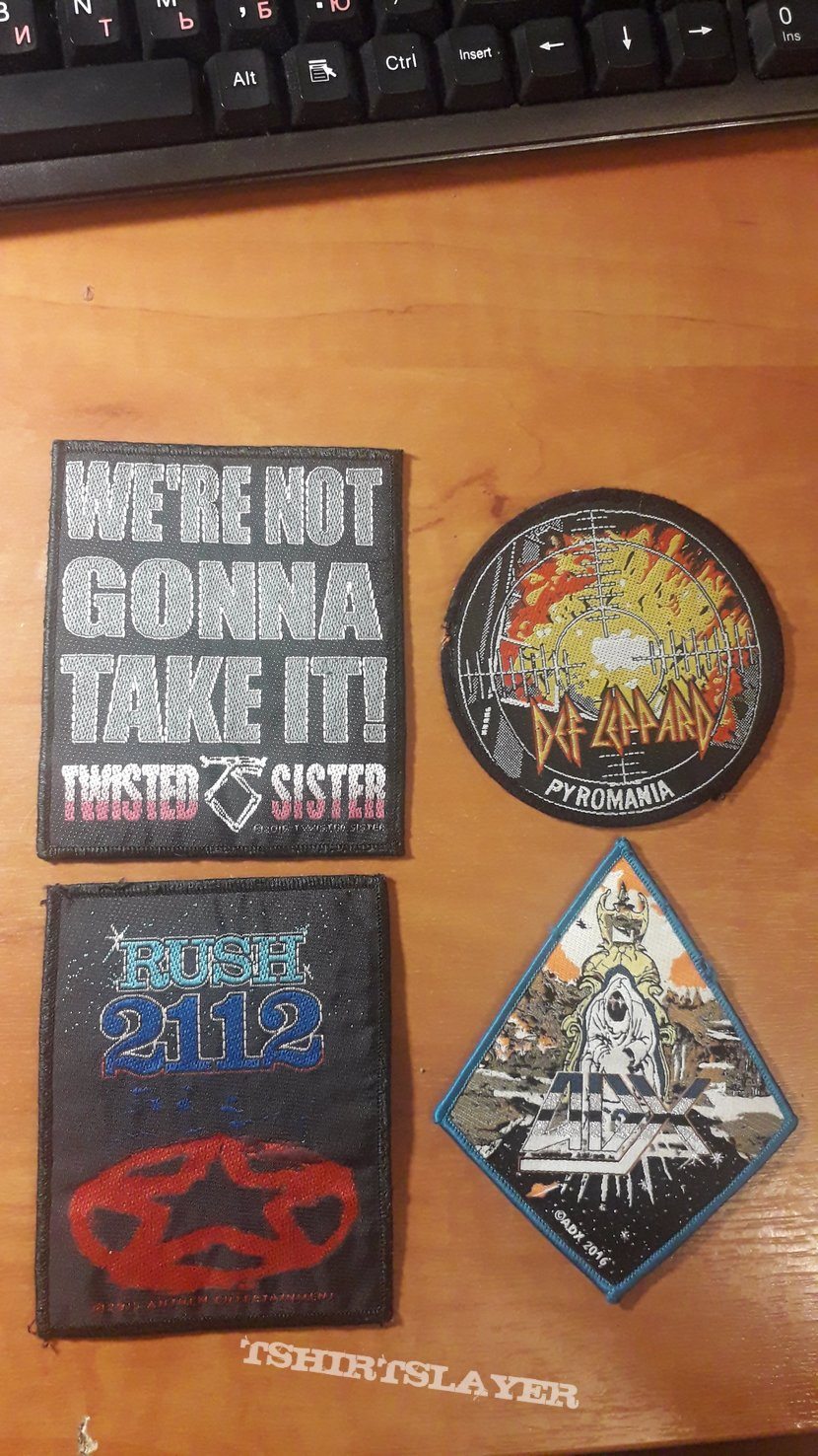 Some hard/heavy patches