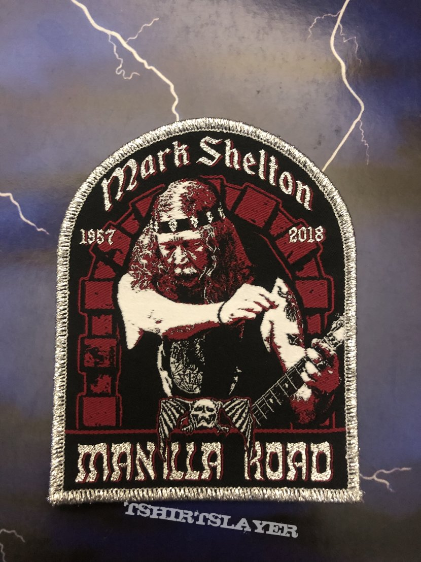 Mark Shelton Tribute Patch