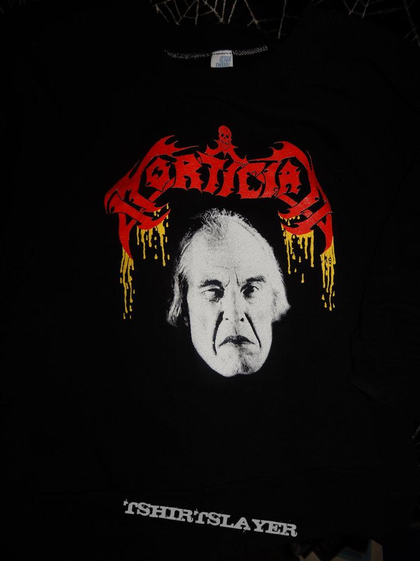Mortician sweatshirt reprint