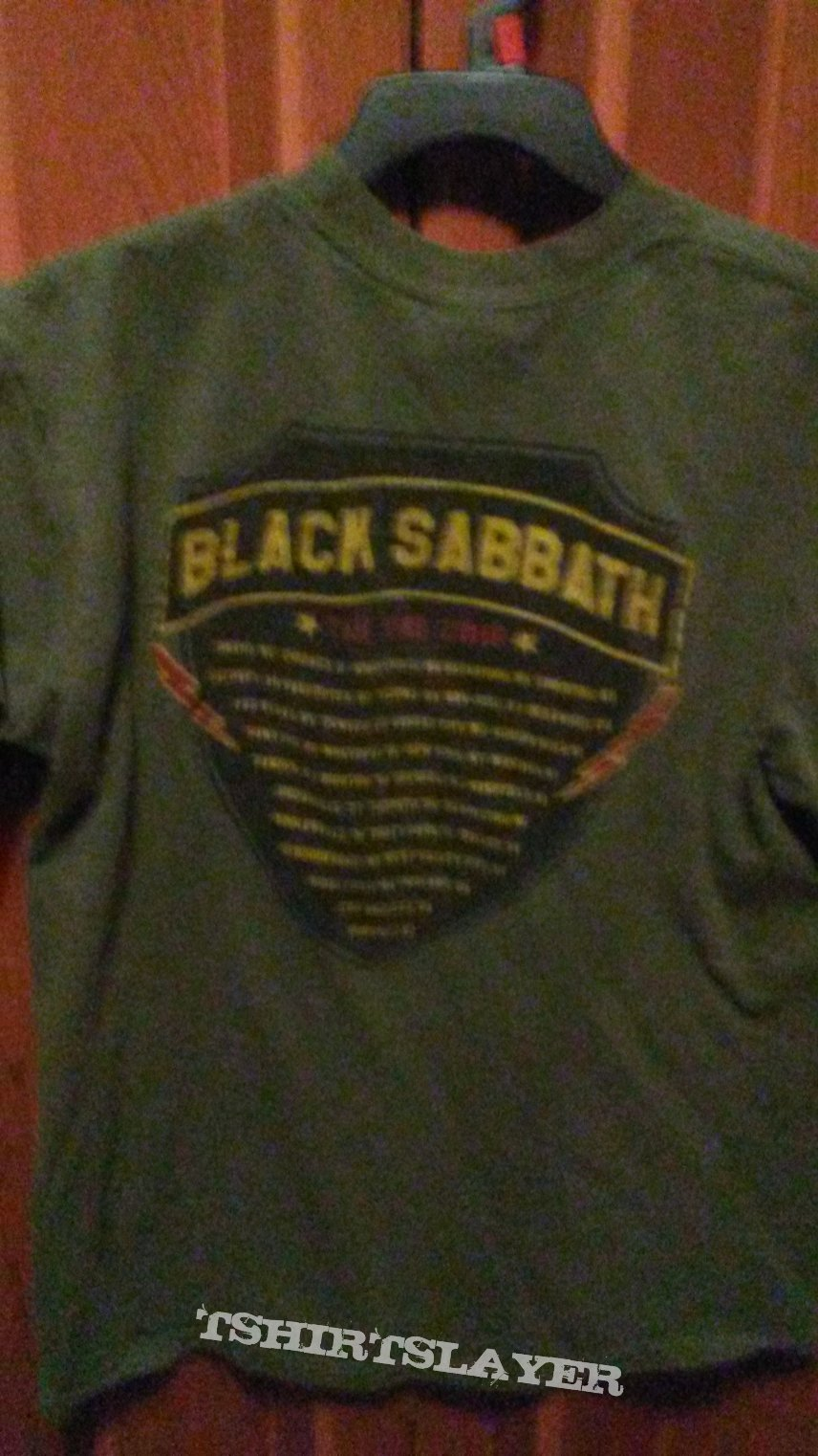 Black Sabbath War Pigs Tour Shirt
