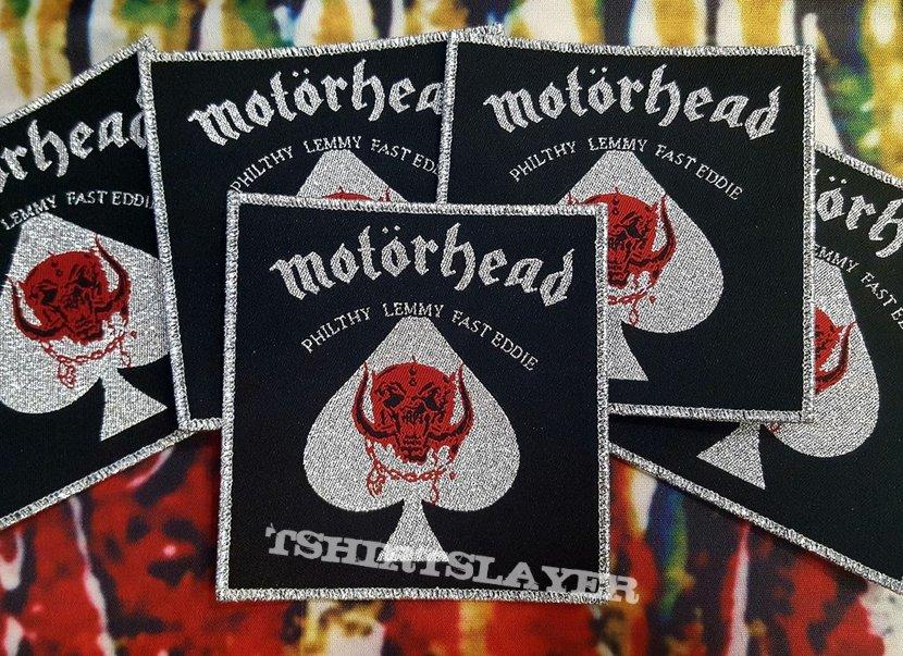 Motörhead Vintage Square Patch (silver border)