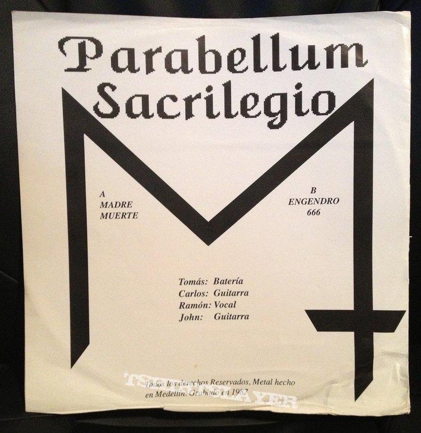 """Parabellum - Sacrilegio 12"""""""