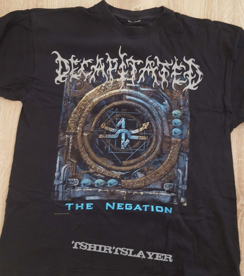 Decapitated - The Negation TS, XL, 2004