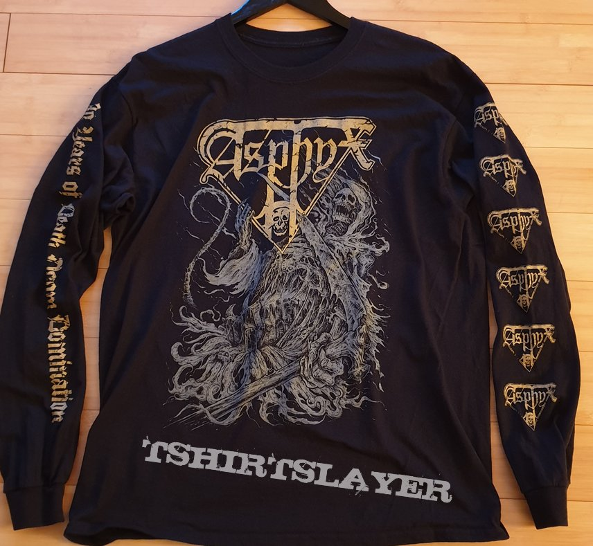 Asphyx - 30 year anniversary LS L - only 120 made!