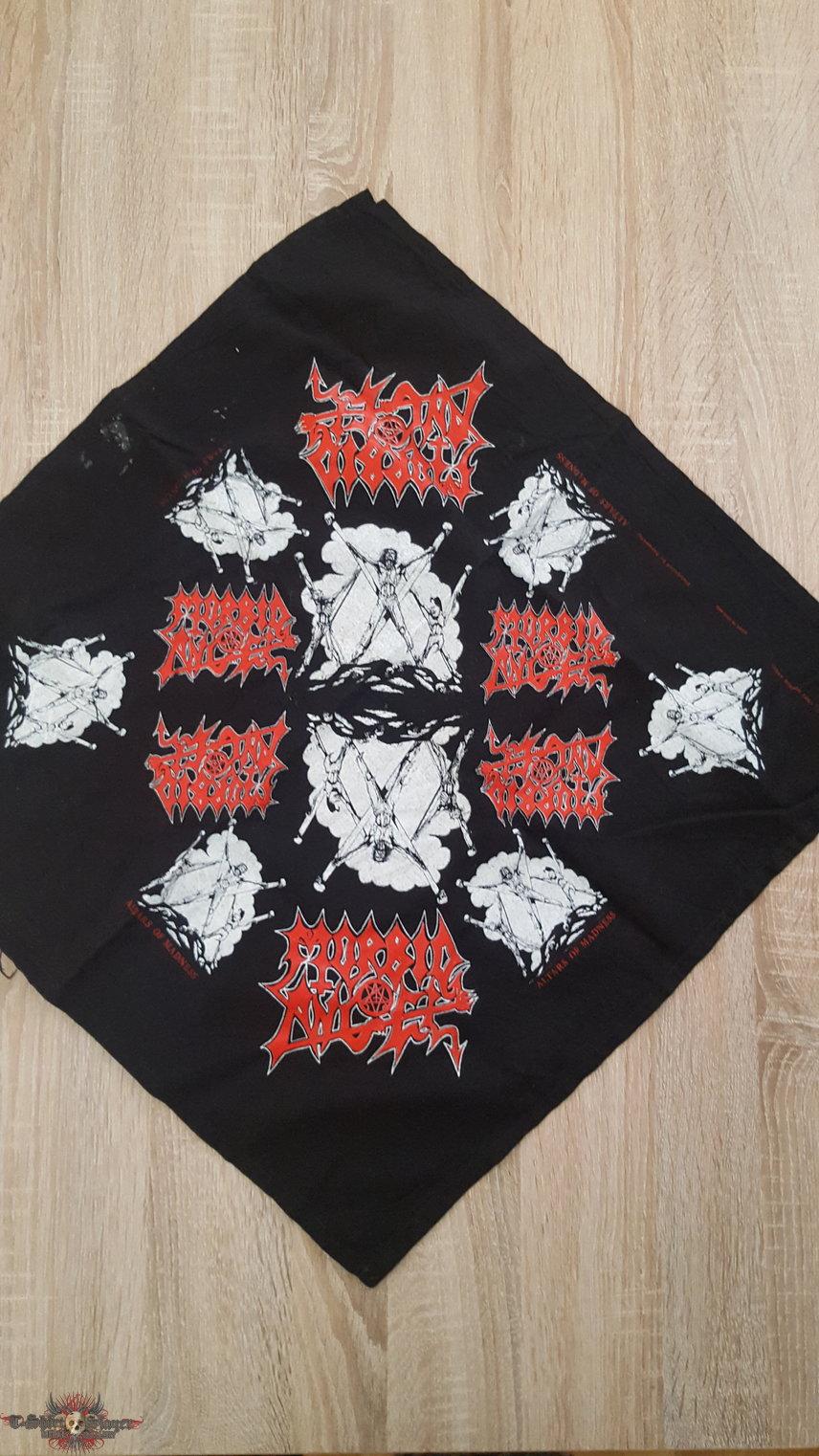 SOLD - Morbid Angel - Crucified Bandana