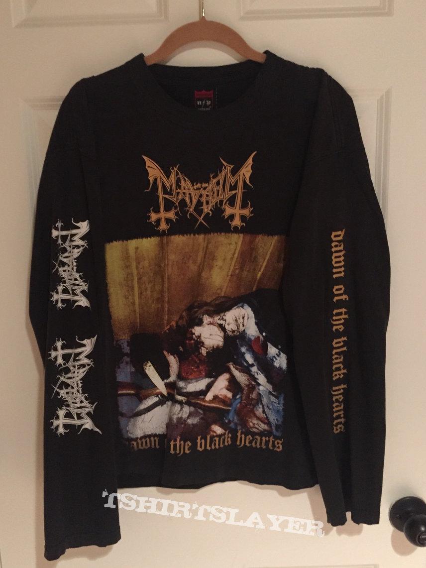 "Mayhem ""Dawn Of The Black Hearts"" Shirt"