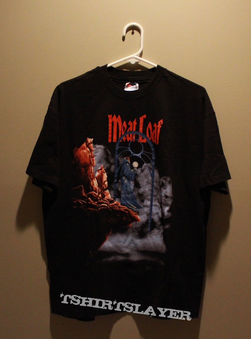 """Meat Loaf """"Back Into Hell"""" US tour shirt XL 1994"""