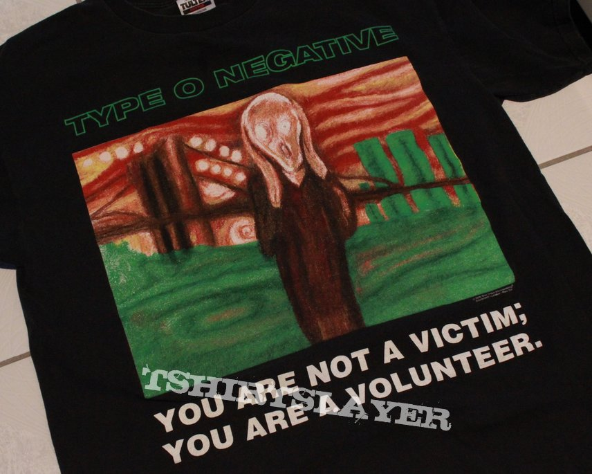 "Type O Negative ""The Profit$ Of Doom"" shirt XL"