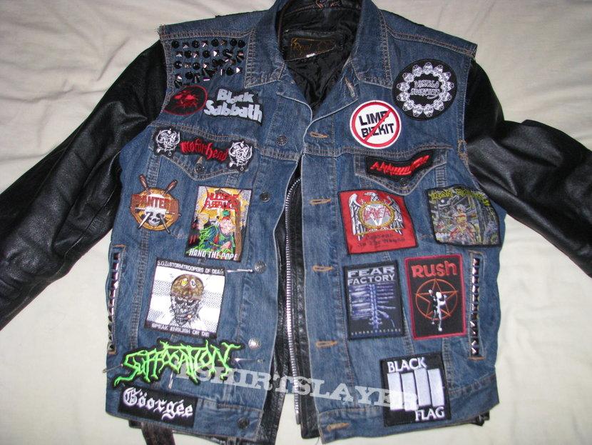 Newly finished vest