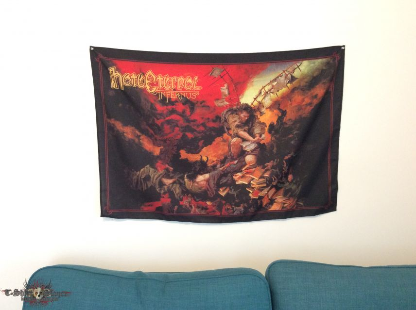 Hate Eternal textile poster