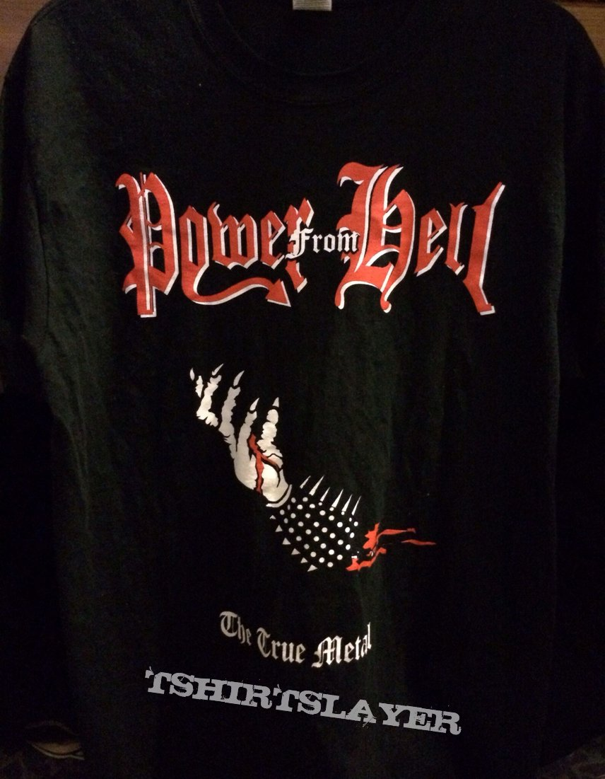 Power From Hell - The True Metal T-Shirt