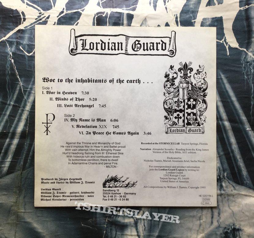 Lordian Guard - s/t vinyl