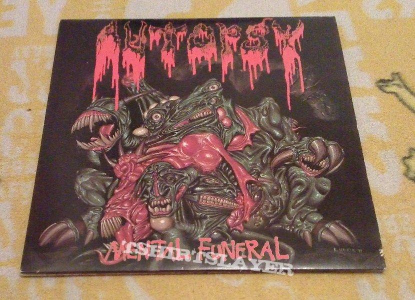 Autopsy - Mental Funeral og vinyl (green)