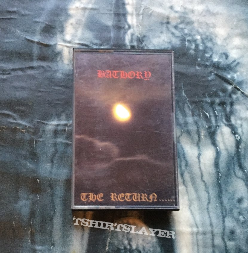 Bathory - The Return tape