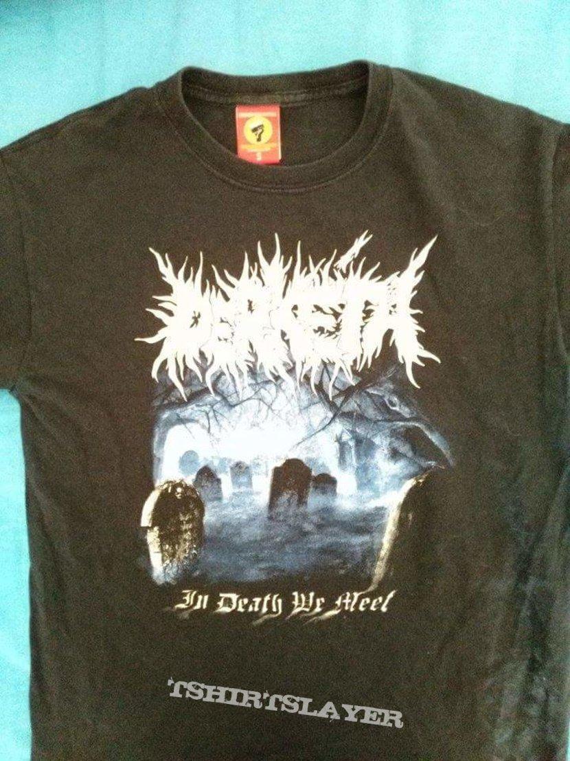 Official Derketa In death we meet tshirt