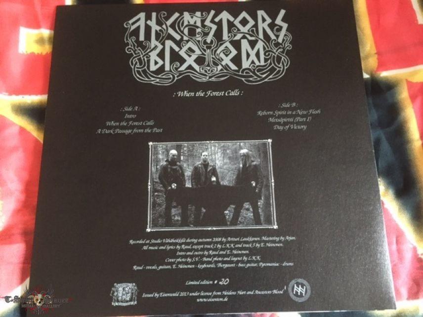 Ancestors Blood - Vinyls