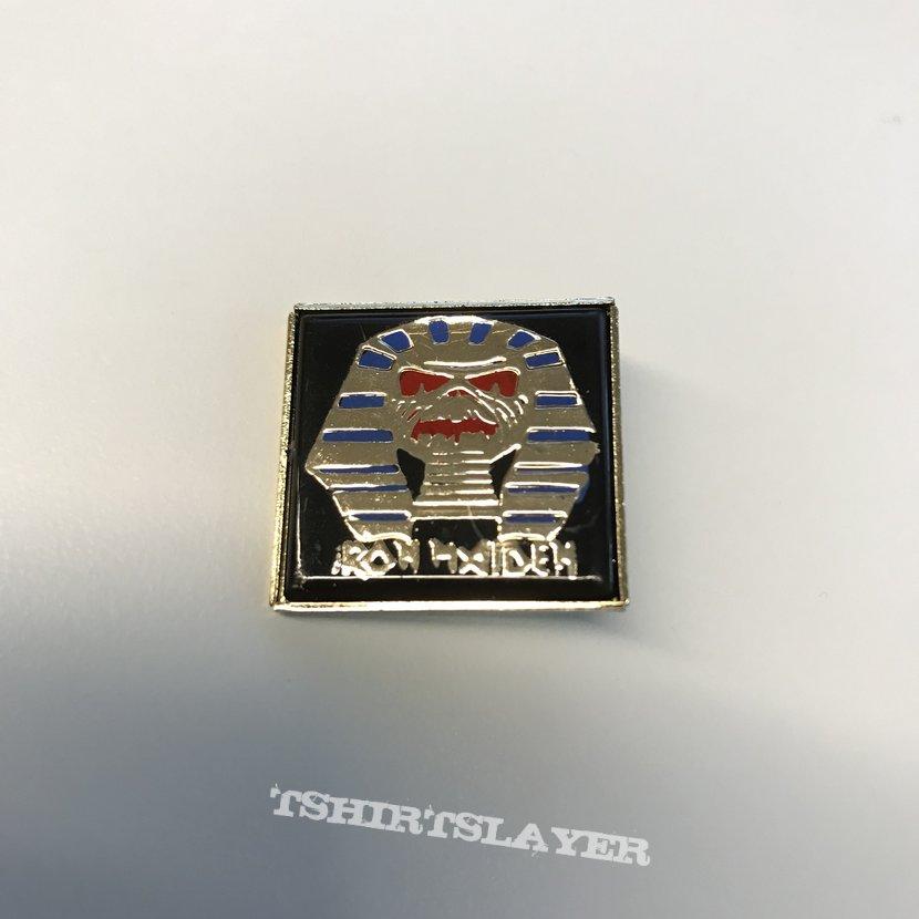 Iron Maiden Powerslave Pin