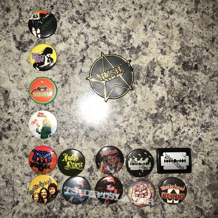 Metal / Rock Buttons