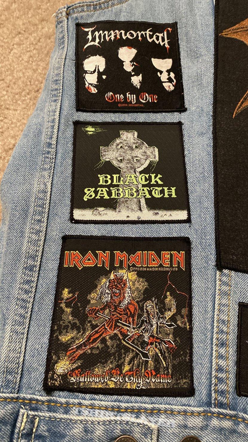 Blue Metal Vest