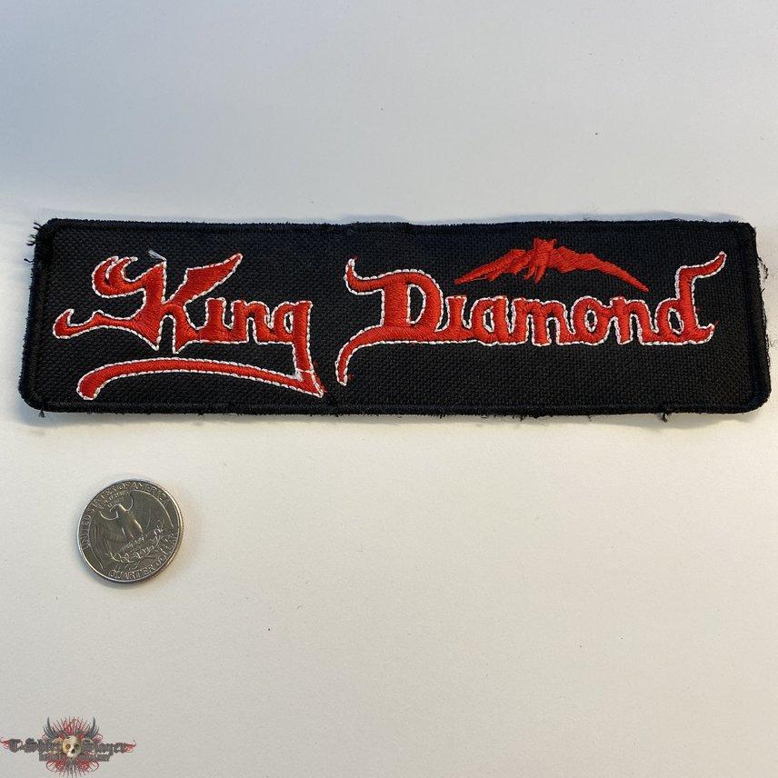King Diamond Strip Patch