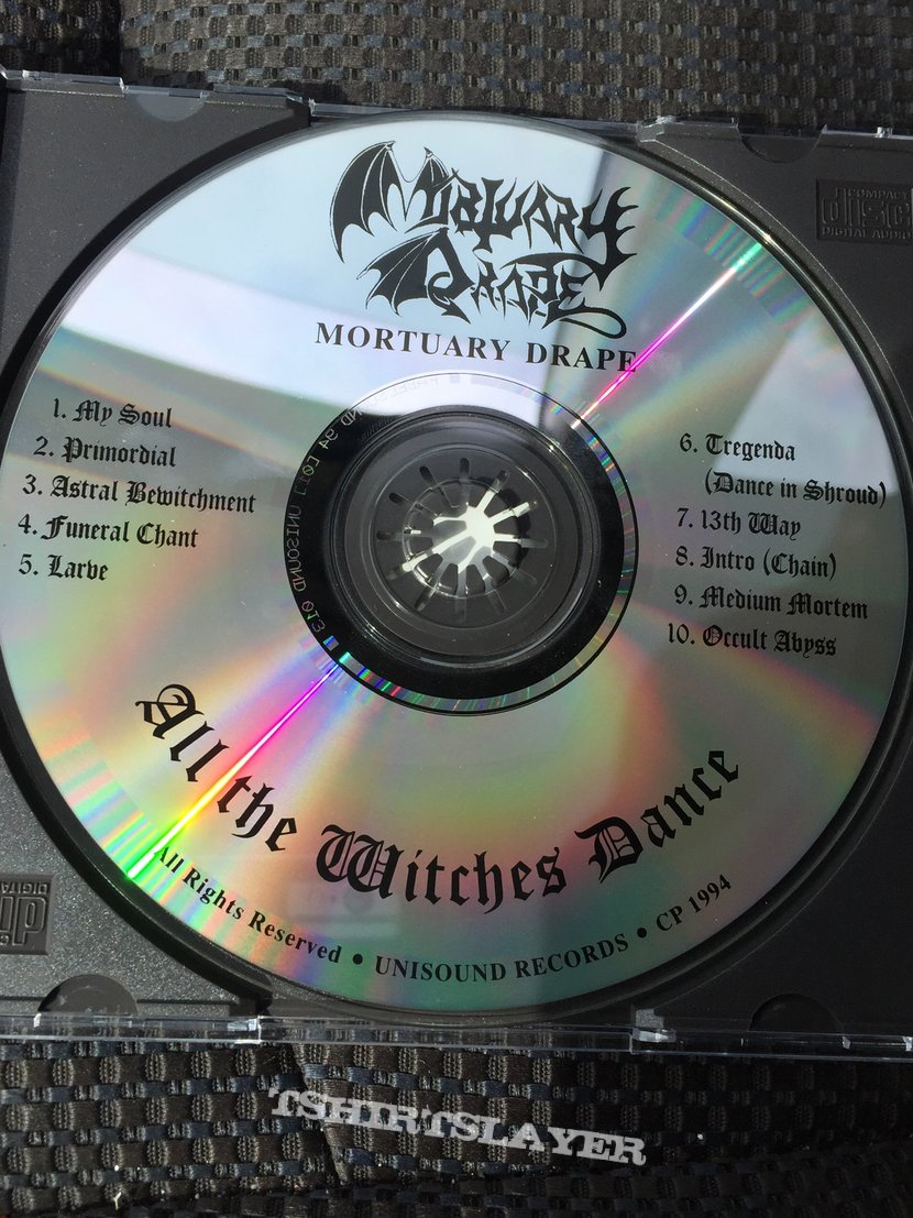 Mortuary Drape- All the Witches Dance ORG CD