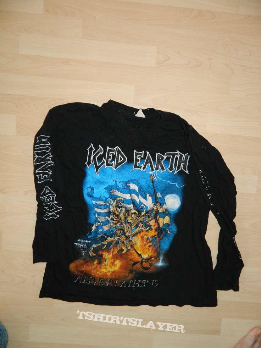 Iced Earth - Alive in Athens Longsleeve  c7fe5d42dc