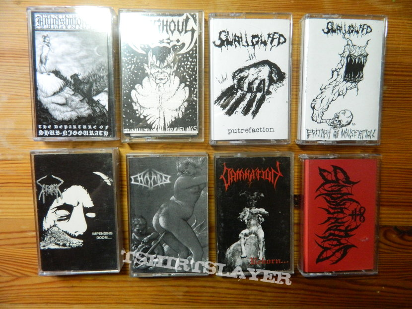 Some Death Metal Tapes