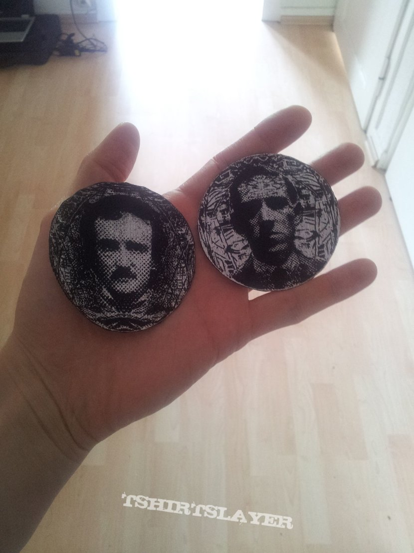 Lovecraft and Poe Patches