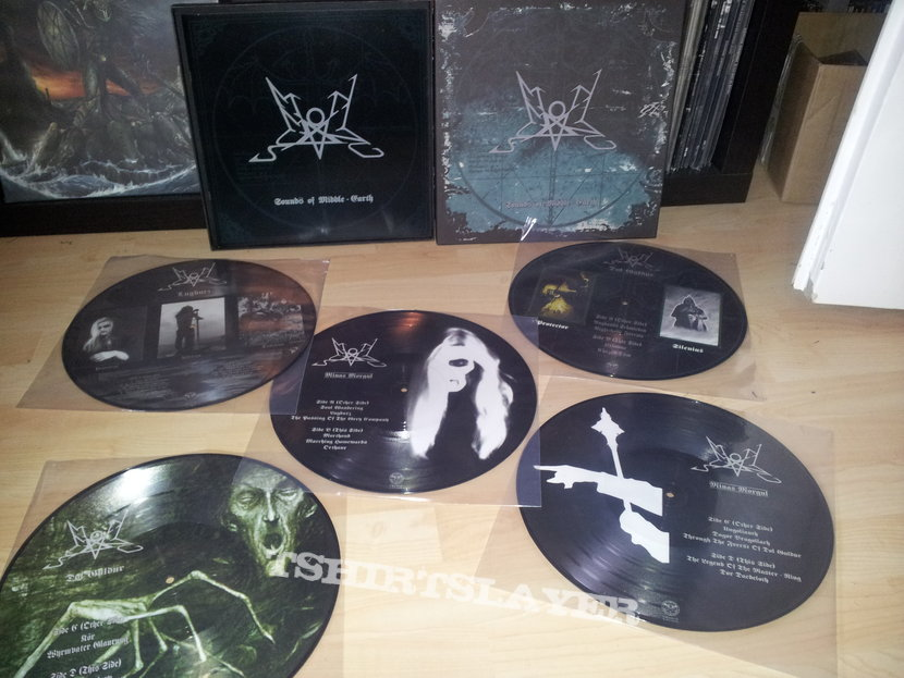 Summoning - Sounds of Middleearth Pic LP Box
