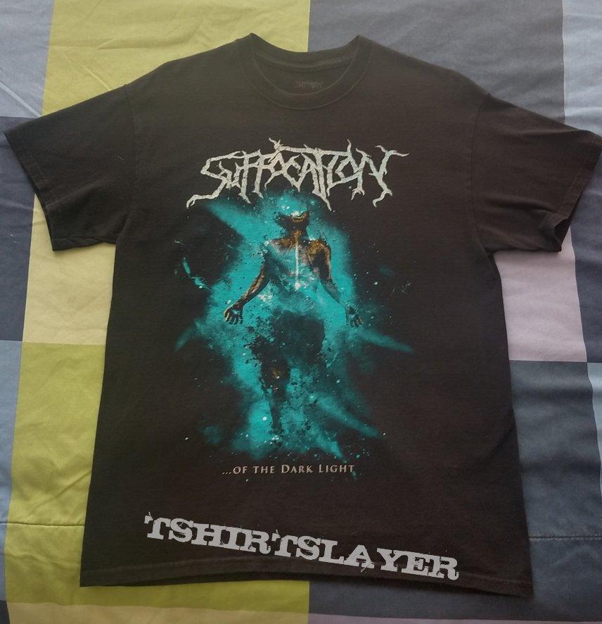 Suffocation Latin America Tour 2019 official shirt