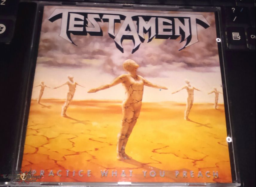 Testament-Practice what you Preach CD