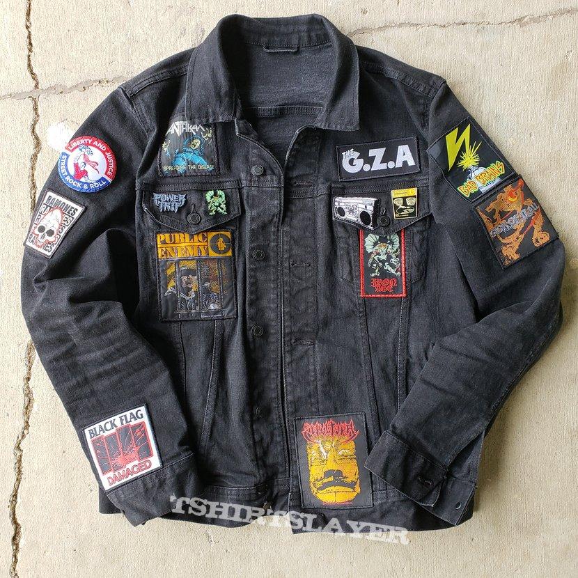 Hardcore Jacket with Punk, Thrash, and Hip Hop