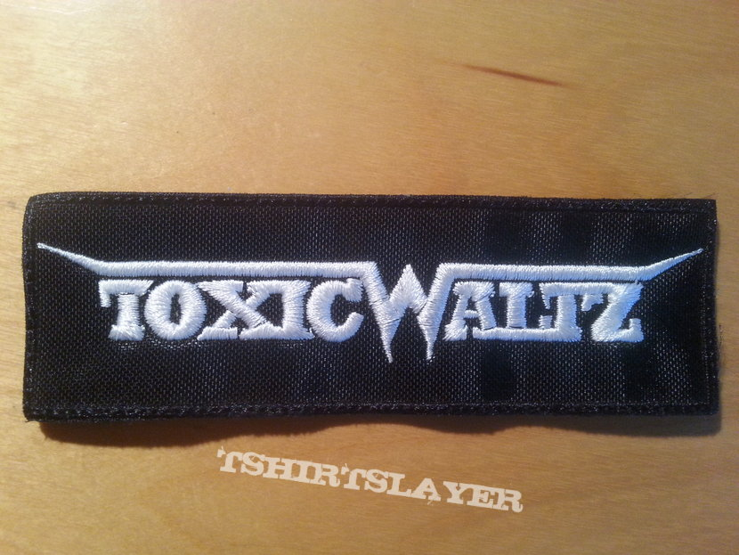 Toxic Waltz Logo Patch Embroidered