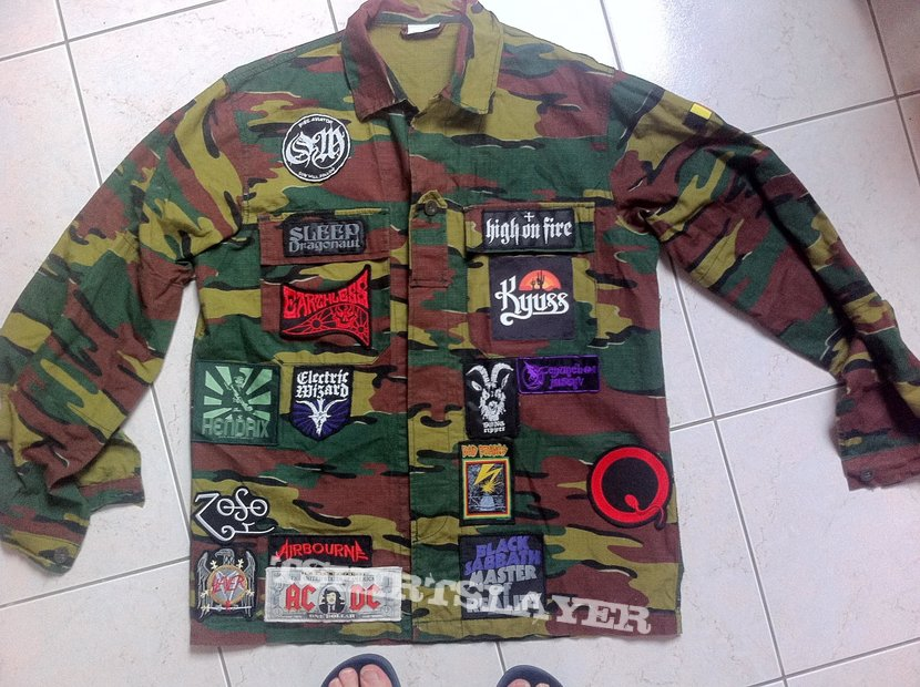 Mostly Stoner and Doom patch jacket