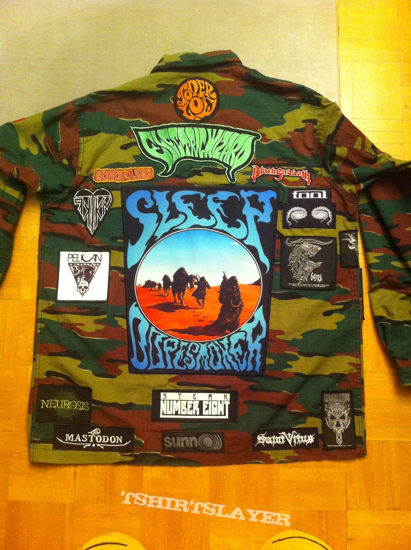 Camo stoner/doom jacket update