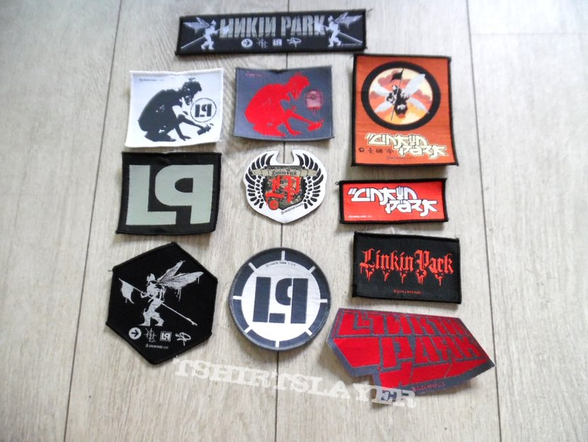 LINKIN' PARK 11 x patch set new | TShirtSlayer TShirt and