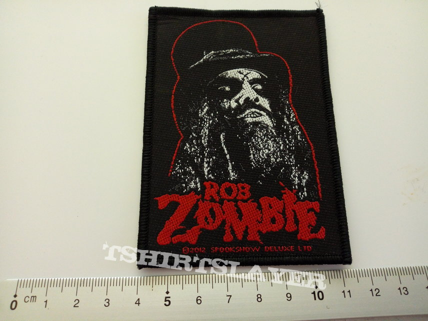 Rob Zombie patch z12  official 2012