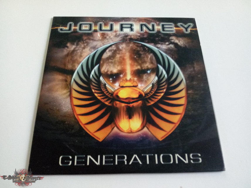 Journey official promo Generations  fr cd 254 new frontiers