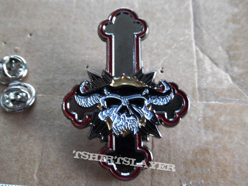 new pins badges part 8 motley crue, d.r.i., , aerosmith,danzig,five finger death punch