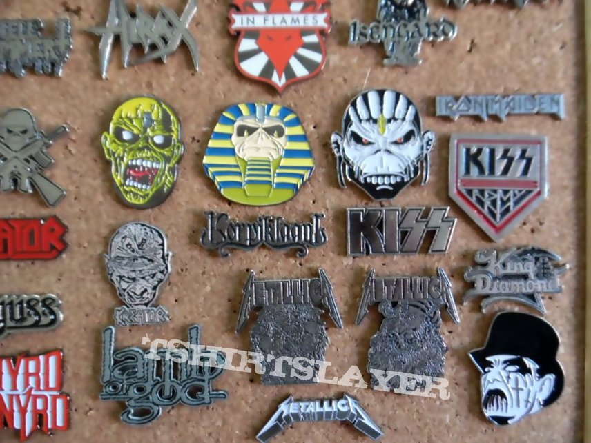 new pins badges updated