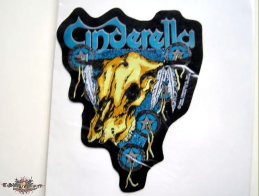 Cinderella 1988 sticker new 8x10 cm  no 221